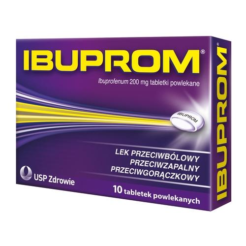 Ibuprom 200 mg 10 tabl. - 1 - apteka internetowa HIT