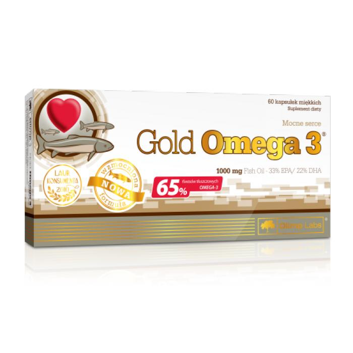 OLIMP Gold Omega 3 1000 mg 60 kaps. - 1 - apteka internetowa HIT