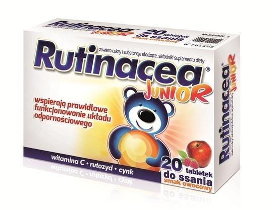 Rutinacea Junior 20 tabletek do ssania - 1 - apteka internetowa HIT