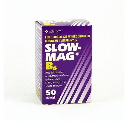 Slow-Mag B6 50 tabl. - 1 - apteka internetowa HIT