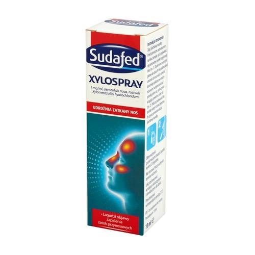 Sudafed XyloSpray aerozol do nosa 10 ml - 1 - apteka internetowa HIT