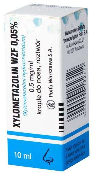 Xylometazolin WZF 0,05% 10 ml - 1 - apteka internetowa HIT