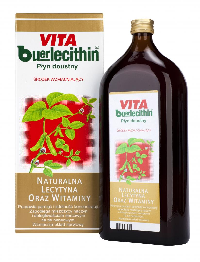 Vita Buerlecithin płyn 1000 ml - 1 - apteka internetowa HIT