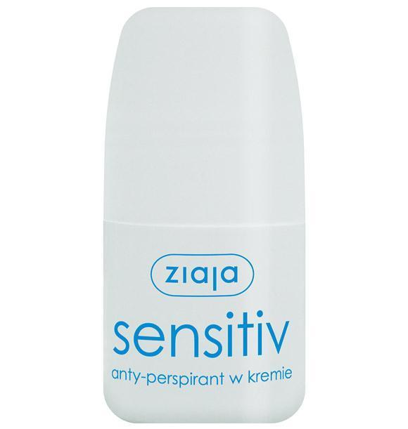 Ziaja antyperspirant w kremie Sensitiv roll-on 60 ml - 1 - apteka internetowa HIT