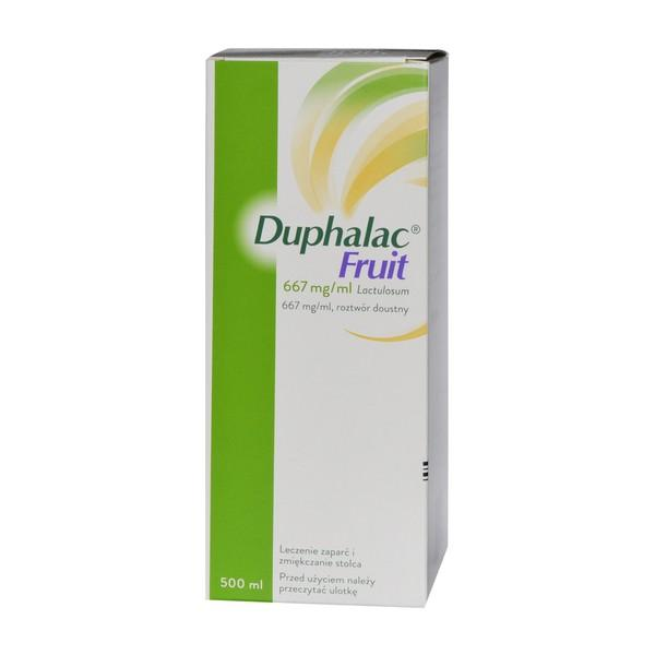 Duphalac Fruit (667 mg/ml) roztwór doustny 500 ml - 1 - apteka internetowa HIT